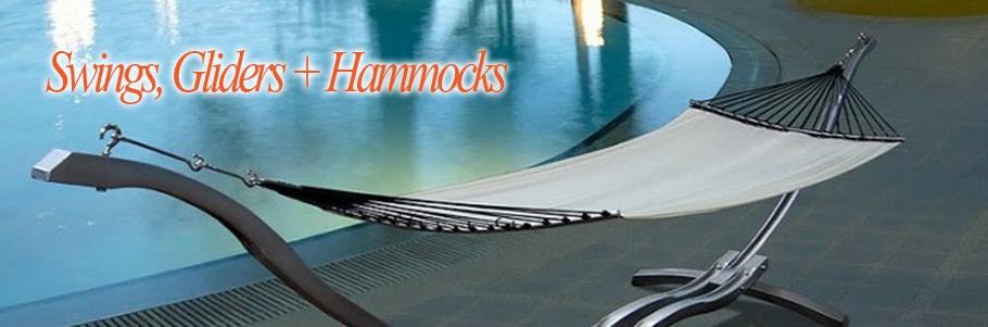 Swings, Gliders, Hammocks + Rockers