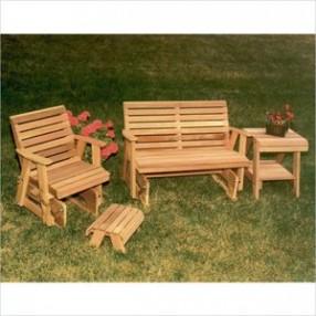 Creekvine Designs Cedar Classic Rocking Glider Furniture Collection