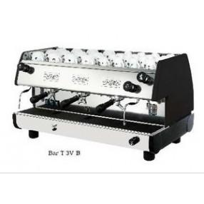 La Pavoni BAR-T Espresso Machine 3V-B 3 Group - Black/Red