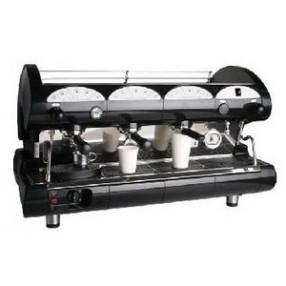La Pavoni BAR-star Espresso Machine 3V-B 3 Group Volumetric - Black/Red